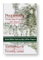 "Book cover of ""Peopleware"""