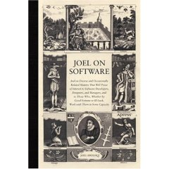 """Joel on Software"" book cover (Image source: amazon.com)"