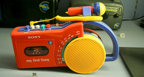 My First Sony by Andrew Scott on Flickr (Creative Commons)